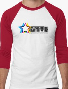 CMYK Republic Men's Baseball ¾ T-Shirt