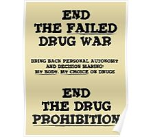 End the Prohibition Poster