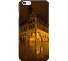 Lakenhalle la nuit iPhone Case/Skin