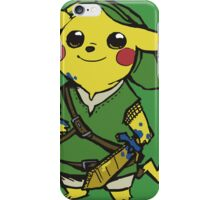 link pikachu iPhone Case/Skin