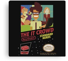 it crowd Canvas Print