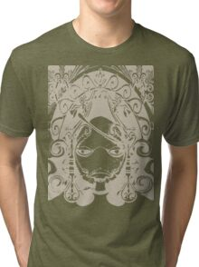 1 Step To Become Grimoire Weiss Tri-blend T-Shirt