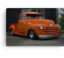 1947 Chevrolet Pickup Truck Canvas Print