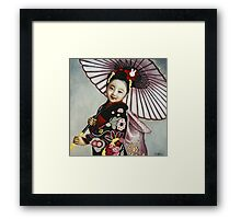 Japanese Girl Framed Print