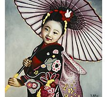 Japanese Girl Photographic Print