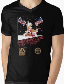assassins creed 3 nes Mens V-Neck T-Shirt