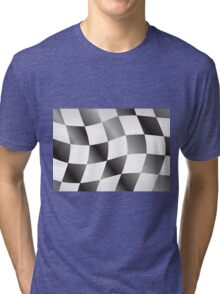 Race Flag Tri-blend T-Shirt