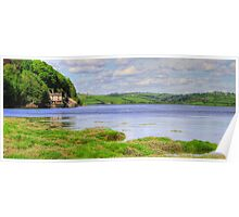 Boathouse - Laugharne Poster
