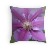 Abstract of Nelly Moser Throw Pillow