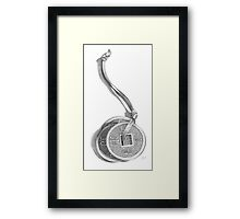 Chinese Coins Framed Print