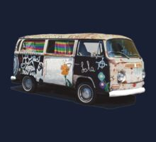 Hippie Van One Piece - Long Sleeve