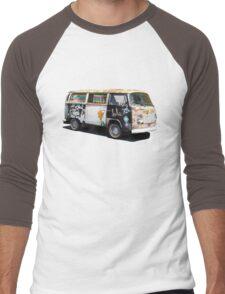 Hippie Van Men's Baseball ¾ T-Shirt