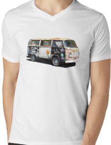 Hippie Van Mens V-Neck T-Shirt