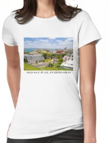 old san juan Womens Fitted T-Shirt