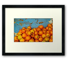 Naranjas Framed Print
