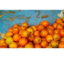 Naranjas Photographic Print