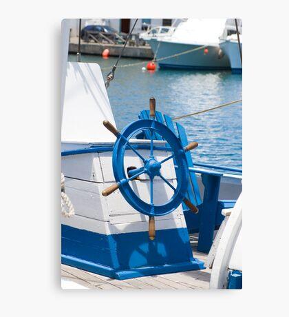 sailor wheel Canvas Print