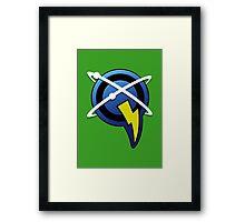 Captain Qwark - Ratchet & Clank Framed Print