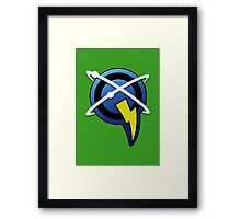 Captain Qwark - Ratchet & Clank Framed Print