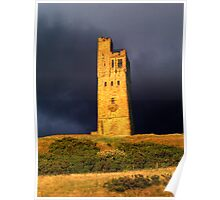 Castle Hill - Huddersfield West Yorkshire Poster