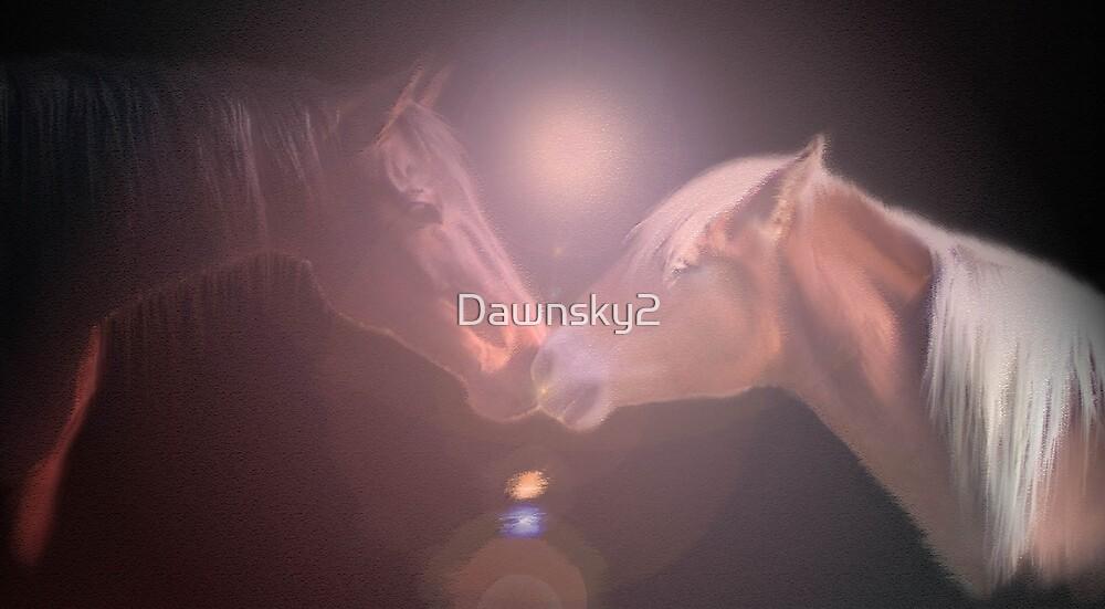 The Kiss by Dawnsky2