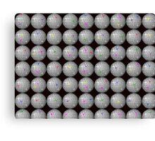 disco star ball Canvas Print