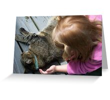 A Gentle Touch Greeting Card