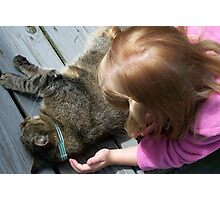 A Gentle Touch Photographic Print