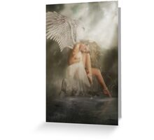 Without you (Limited Edition)  Greeting Card