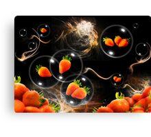strawberry atmosphere Canvas Print