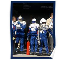 Waiting (Le Mans 2008) Poster