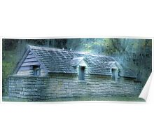 Outhouse in the Woods Poster