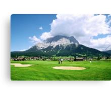 Zugspitze Arena Canvas Print
