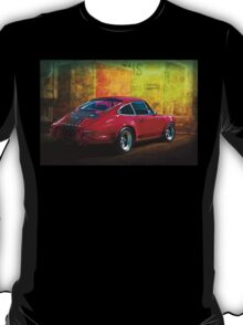 Red Porsche 911 Rear T-Shirt