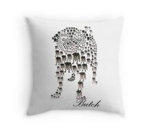 Butch Throw Pillow