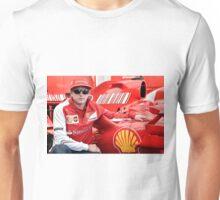 Kimi Raikkonen Ferrari F1 Driver Unisex T-Shirt
