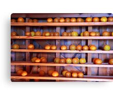 Orange Harvest Canvas Print