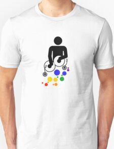 Retro DJ Unisex T-Shirt