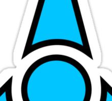 Fuchsarmee blue army logo Sticker