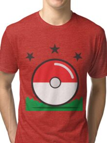 Catching Pokémon Tri-blend T-Shirt