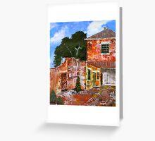 Convict Stone, Salamanca Greeting Card