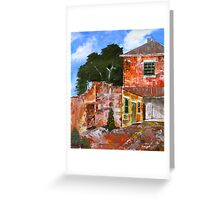 Convict Stone, Salamanca Greeting Card