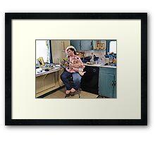 Baby Mama Framed Print