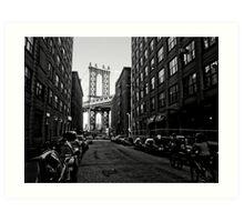 Manhattan Bridge from a Distance Art Print