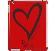 #BeARipple PEACE Heart for Paris Red iPad Case/Skin
