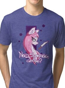 Need something, Cupcake? (Safe) Tri-blend T-Shirt