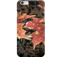 Rusted Maple iPhone Case/Skin