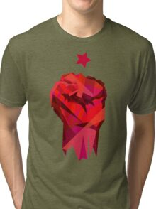 Rebel Fist Tri-blend T-Shirt