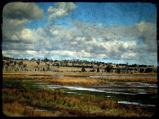 Dangars Lagoon, Northern Tablelands, New South Wales by Kitsmumma