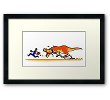 Have You Ever Wanted a Pet Dinosaur? Framed Print